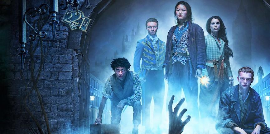 Nuova serie tv Gli Irregolari di Baker Street, con Mckell David e Thaddea Graham