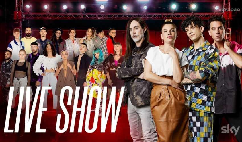 Talent show X Factor 2020- immagini