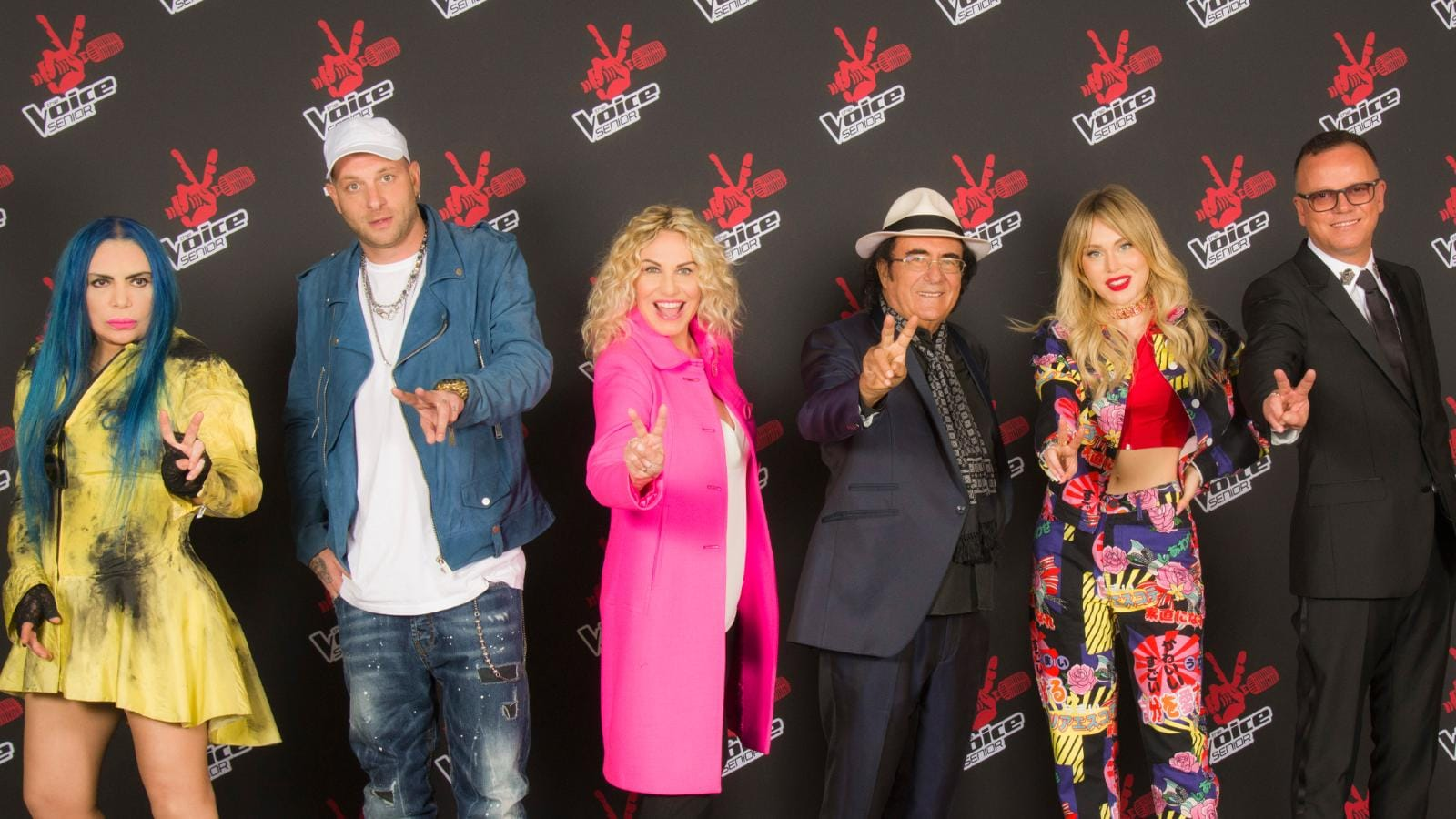 Tv show The Voice of Italy Senior 2020