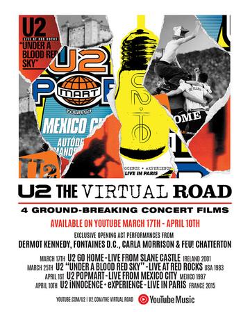 U2 album e tour - immagini