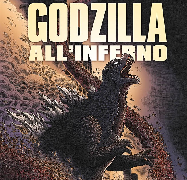 Fumetto SaldaPress Godzilla all'Inferno, l'originale rilettura di James Stokoe