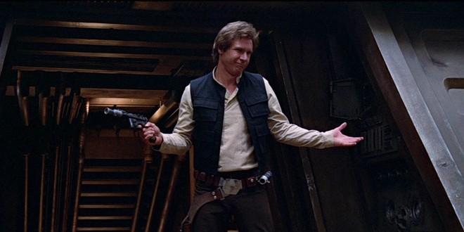 Han Solo Star Wars Anthology film
