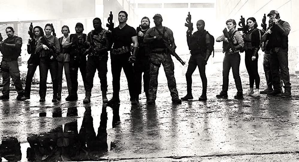 The Tomorrow War, il nuovo film sci-fi con Chris Pratt e Yvonne Strahovski