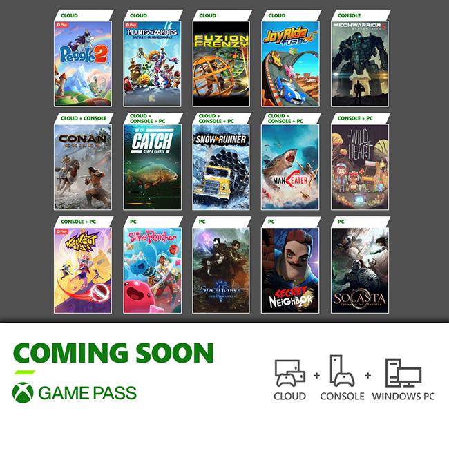 Xbox Game Pass: i giochi di fine maggio 2021