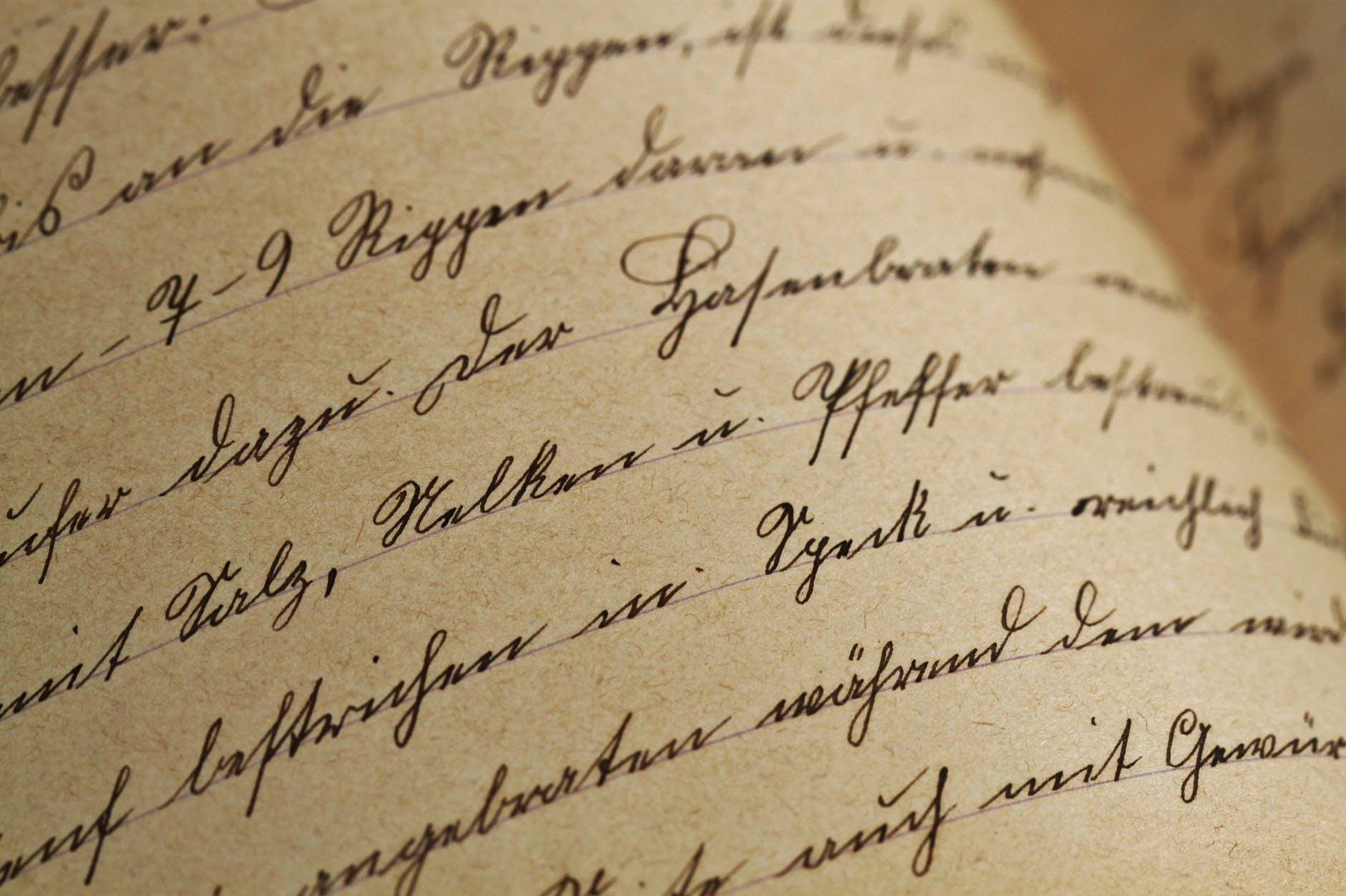 Le lettere d'amore più famose della storia