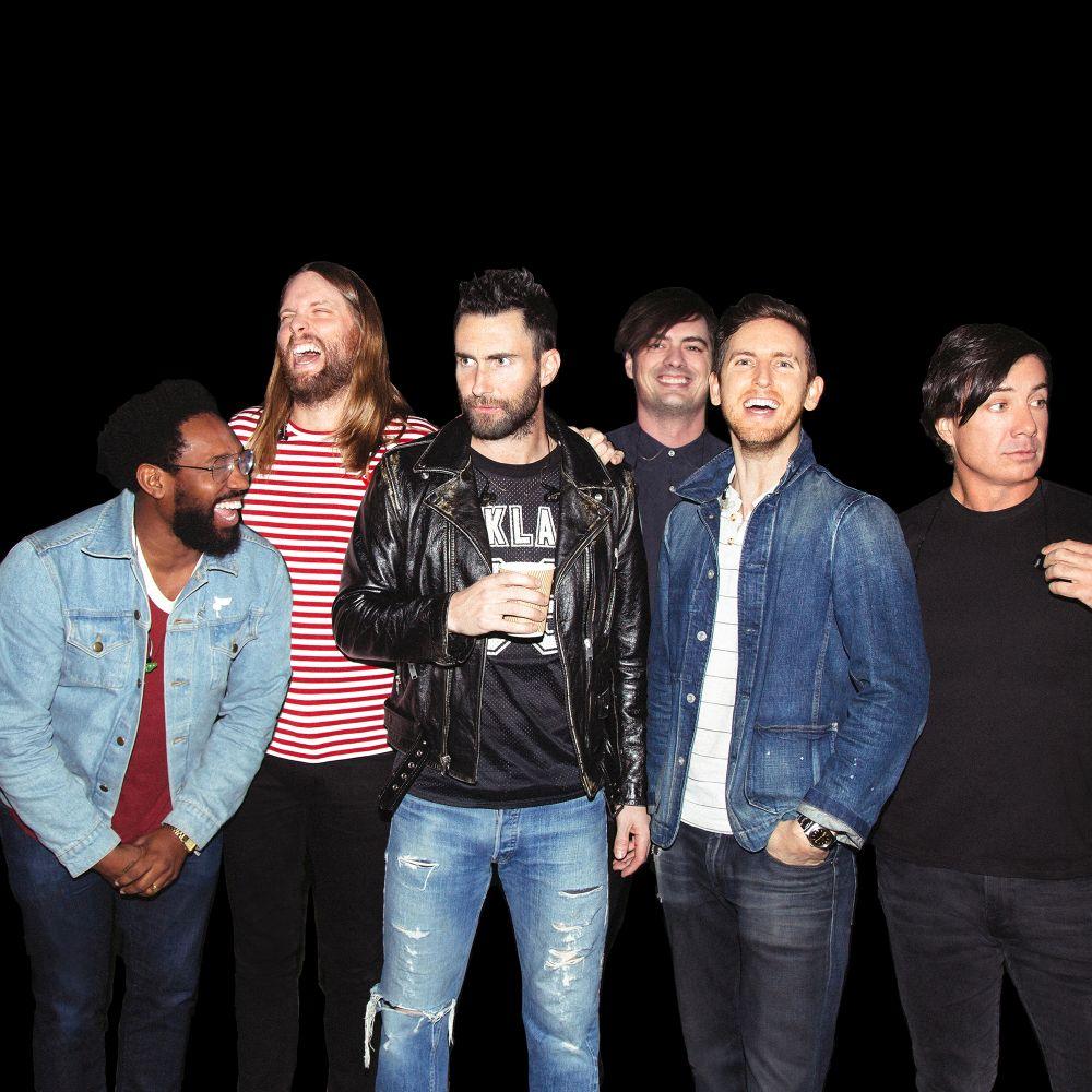 Maroon 5 album e tour - immagini