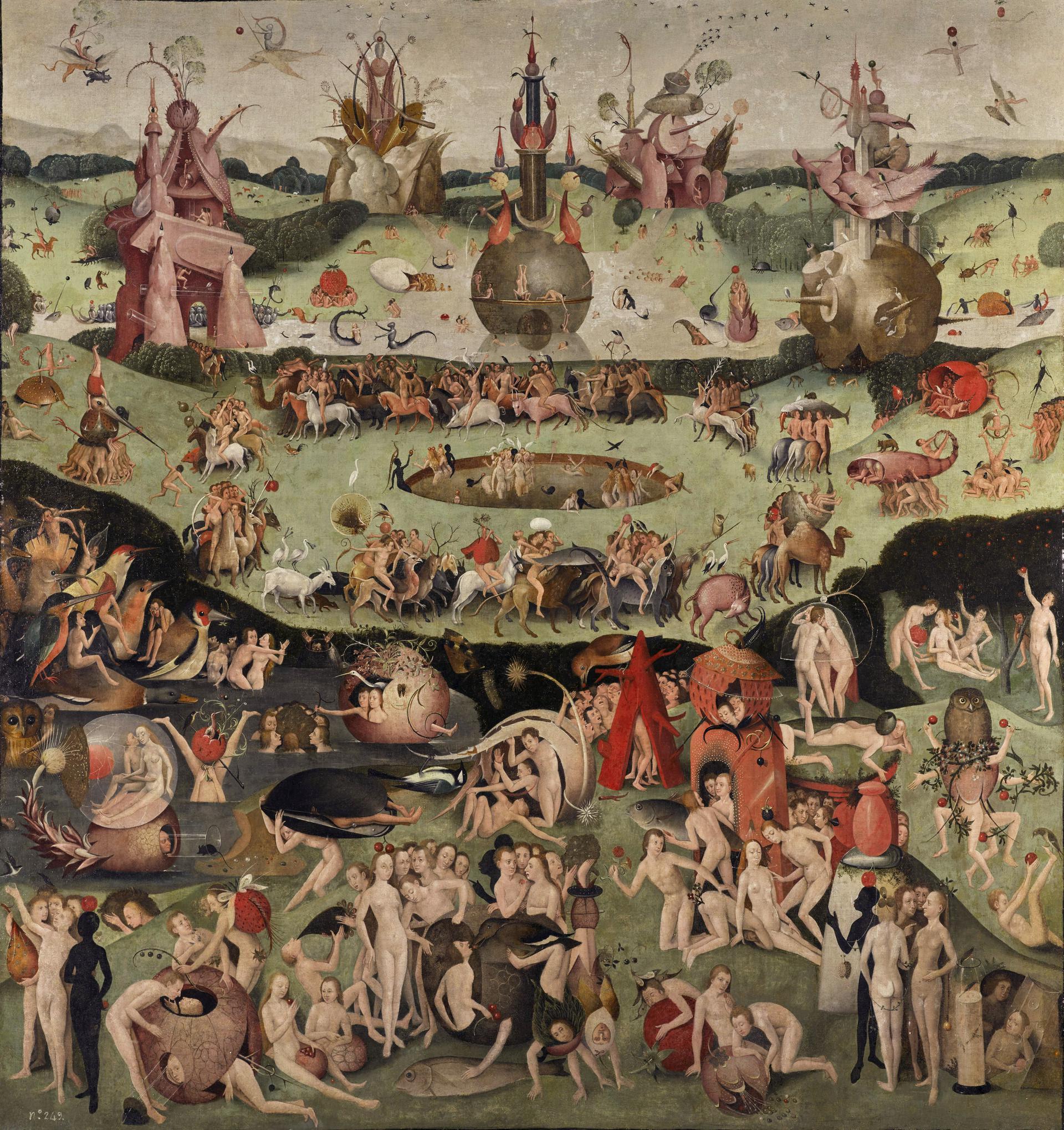 Mostra Lugano - Il giardino delle delizia di Hieronymus Bosch - immagini