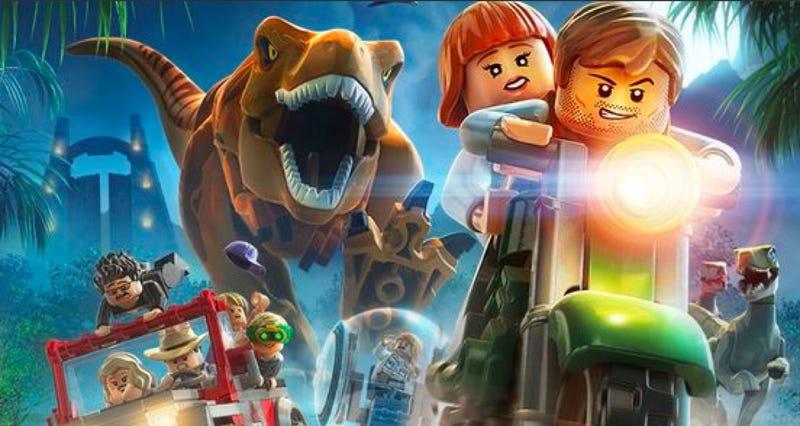 Game Lego Jurassic World