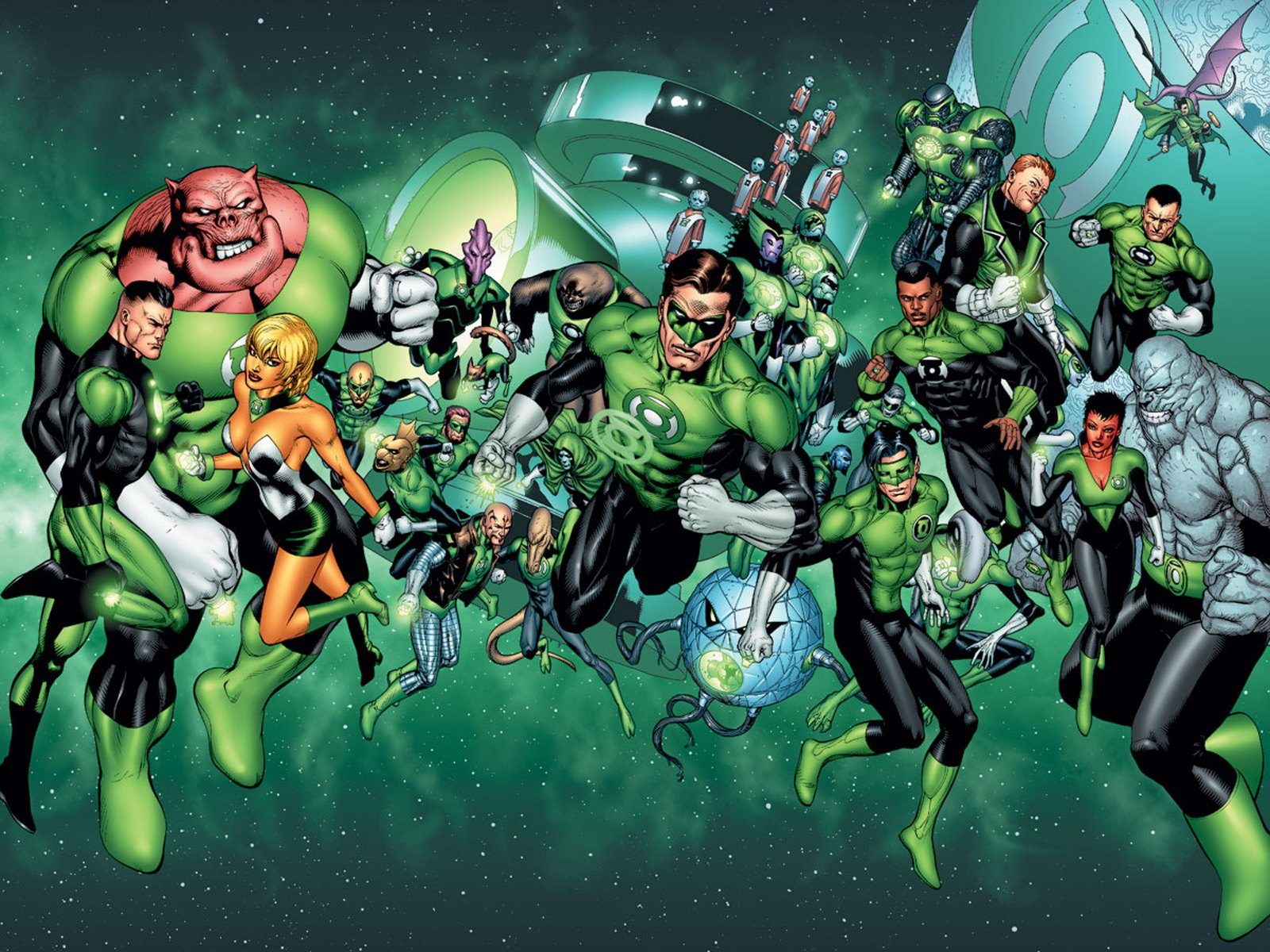 Green Lantern Corps.