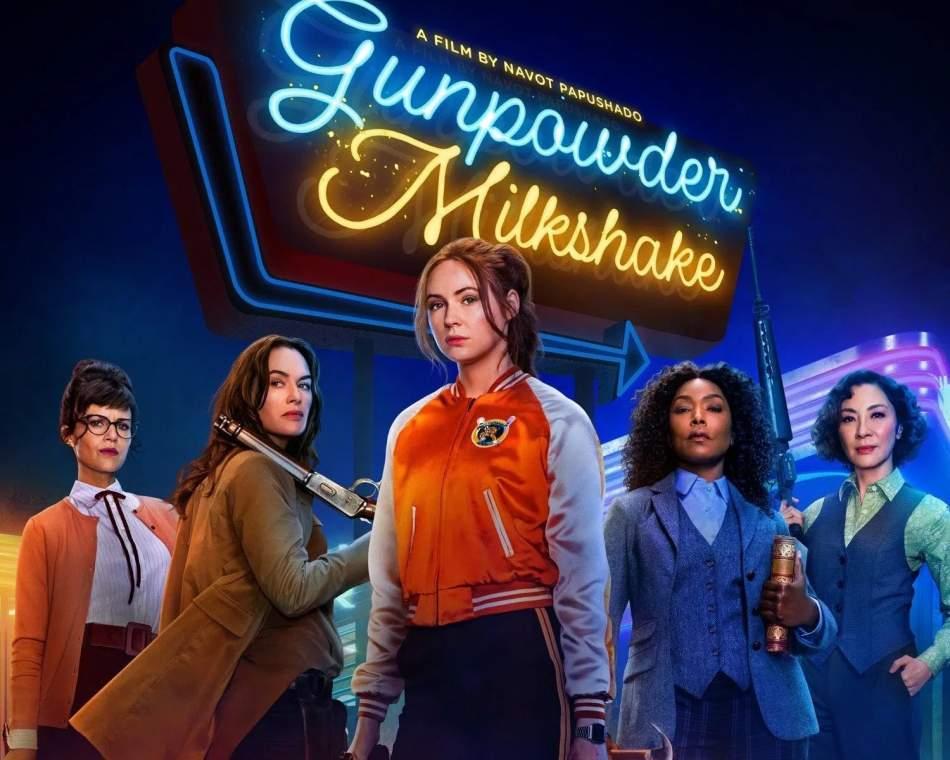 Recensione film Gunpowder Milkshake, sventagliate di pallottole e splatter movie