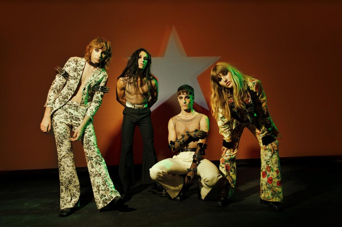 Måneskin, album e tour - immagini