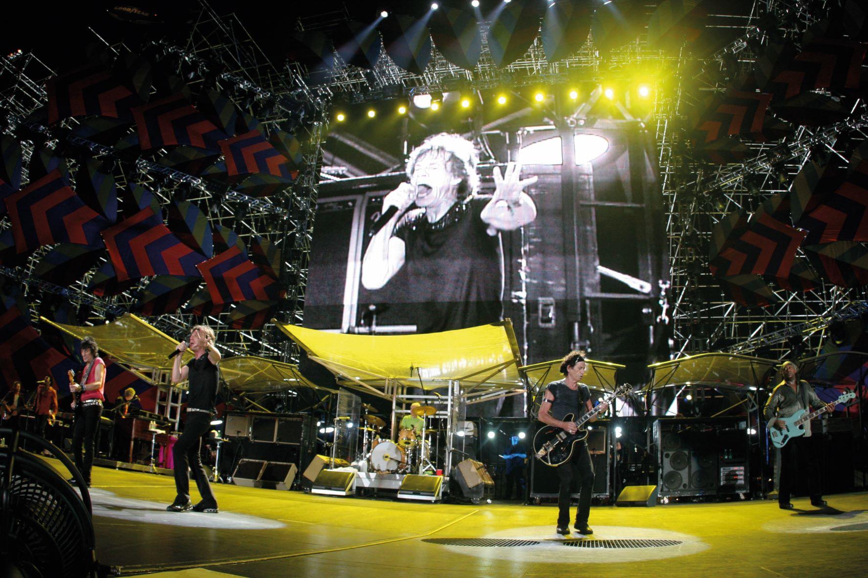 Rolling Stones album e tour - immagini