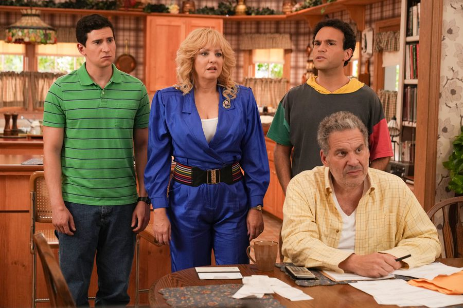 Serie Tv The Goldbergs stagione 9, immagini dal set
