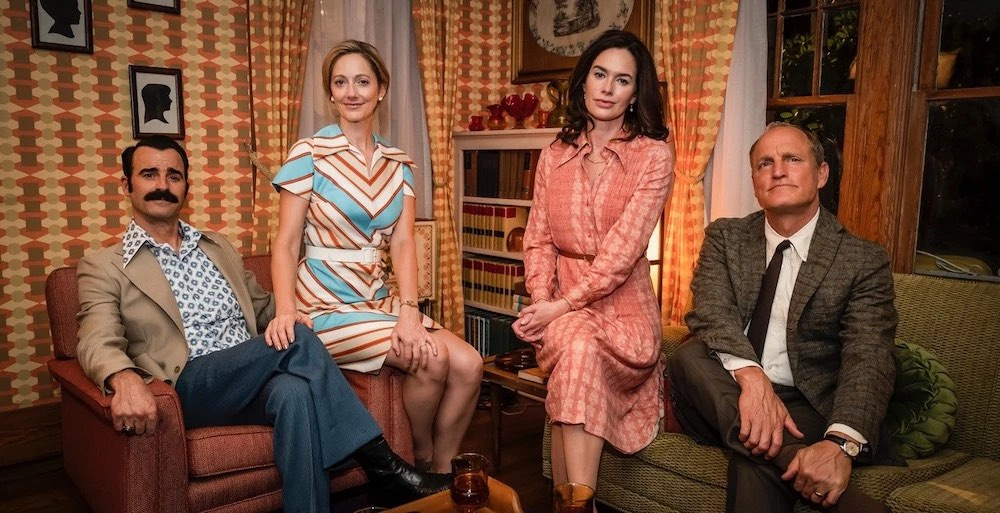 Serie Tv The White House Plumbers, le riprese dal set